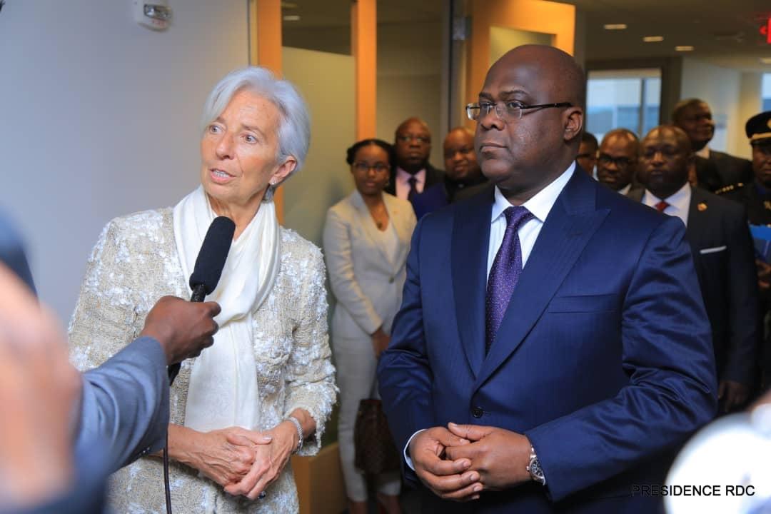Lagarde et Tshisekedi