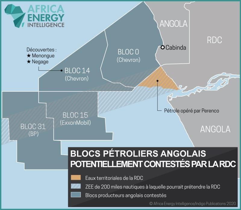 carte bloc pétrolier exxon