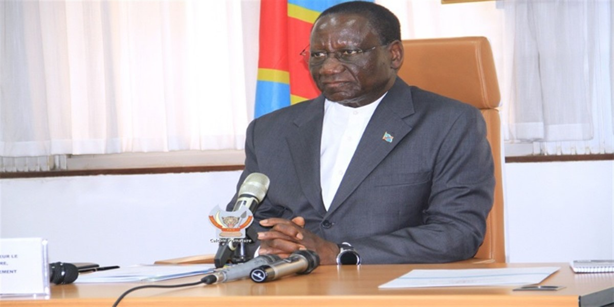 Premier Ministre Sylvestre Inlukamba