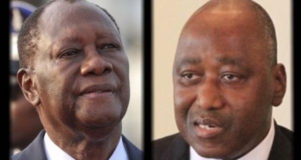 Amadou Gon Coulibaly et Ouatara