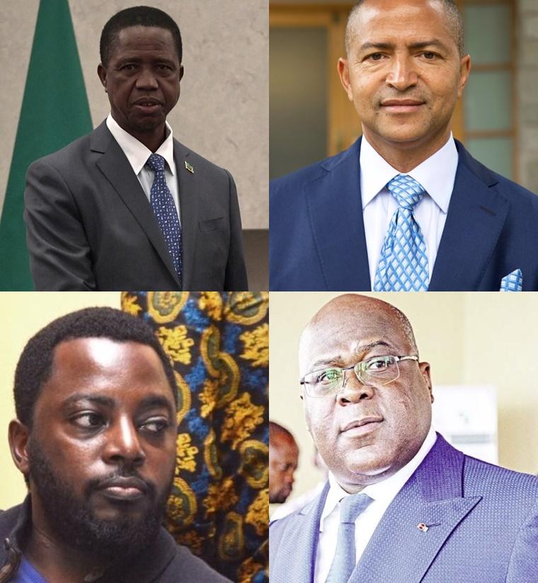 Lungu, Katumbi, Zoé Kabila, F. Tshisekedi