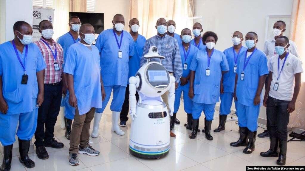 robot_covid-19 rwanda