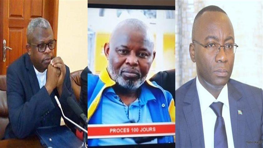 Nshole, Kamhere et Néhémie Mwilanya RDC