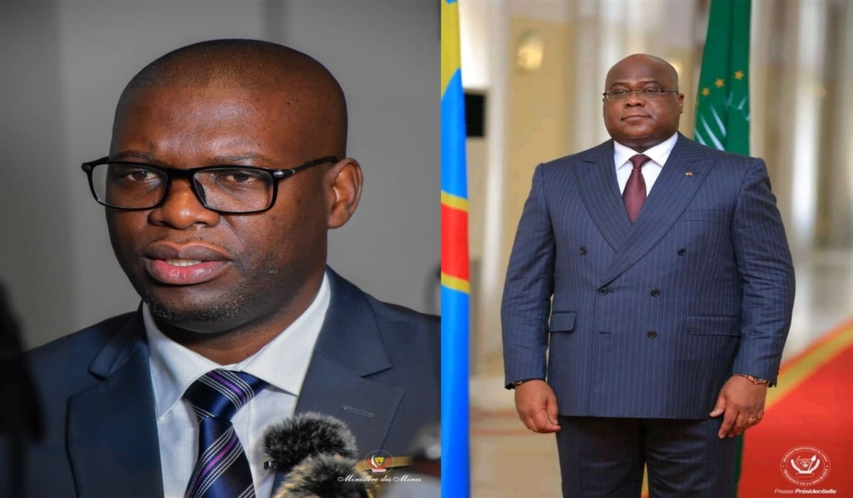 Willy Kitobo et Félix Tshisekedi