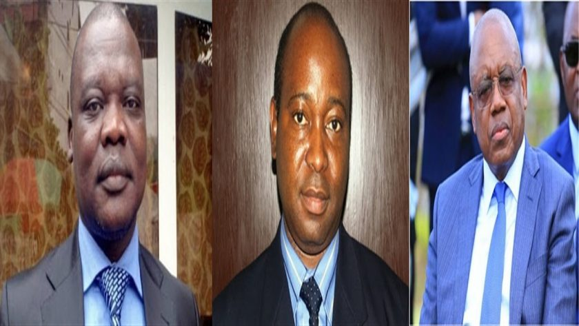 Diedonné Lokadi, Deogracias Mutombo et Henri Yav Mulang