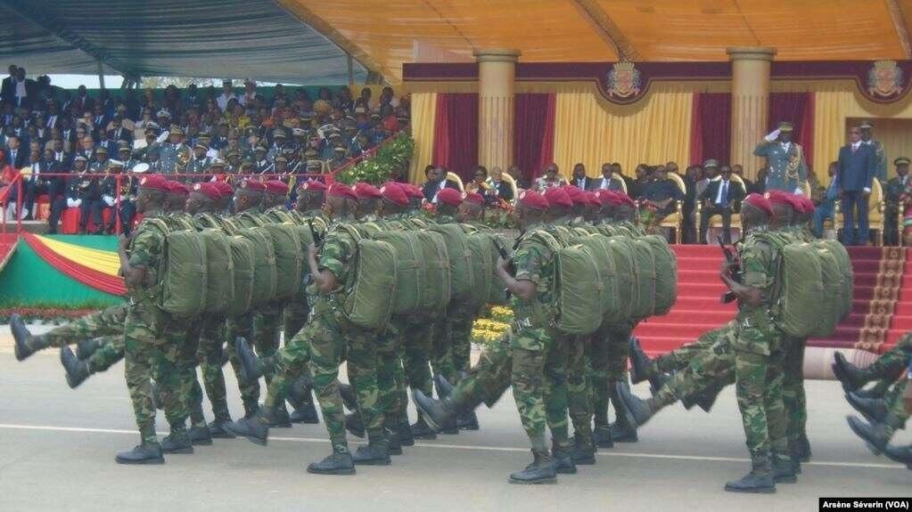 défilé militaire congo brazza