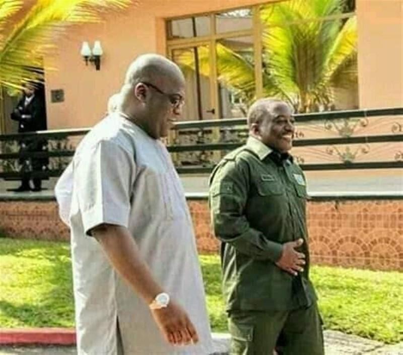 Rencontre Félix Kabila à Nsele