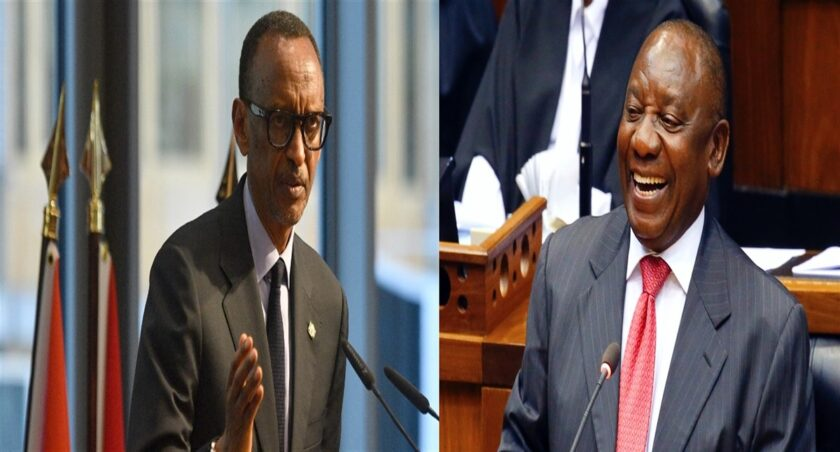 Kagame et Ramaphosa