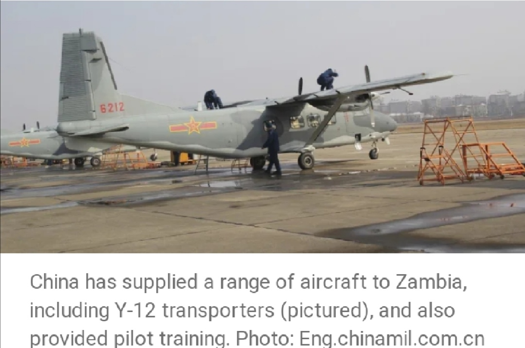 Zambie - Chine