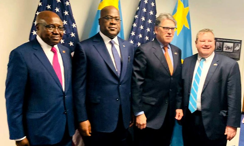 félix tshisekedi et les américains