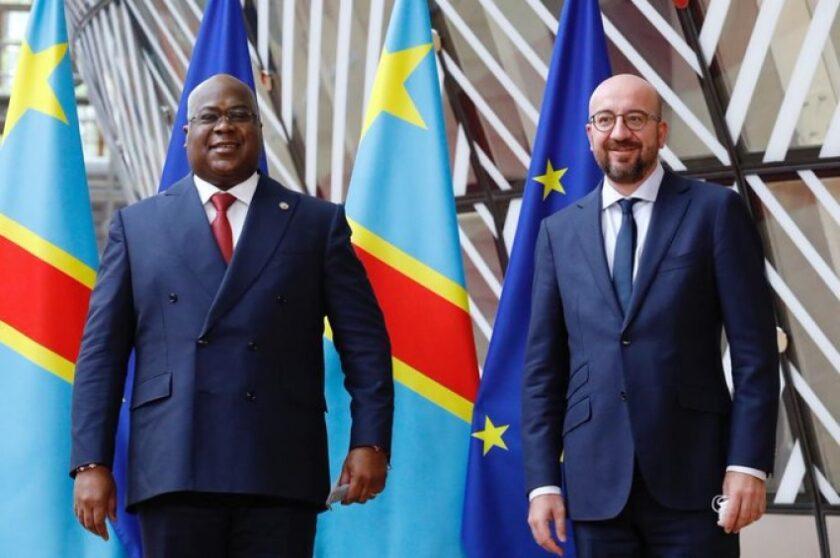 Felix Tshisekedi et Charles Michel à Bruxelles