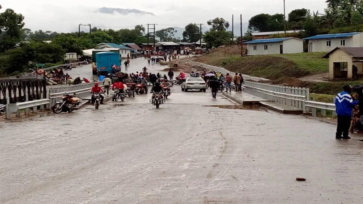 frontière RDC-BENI - OUGANDA