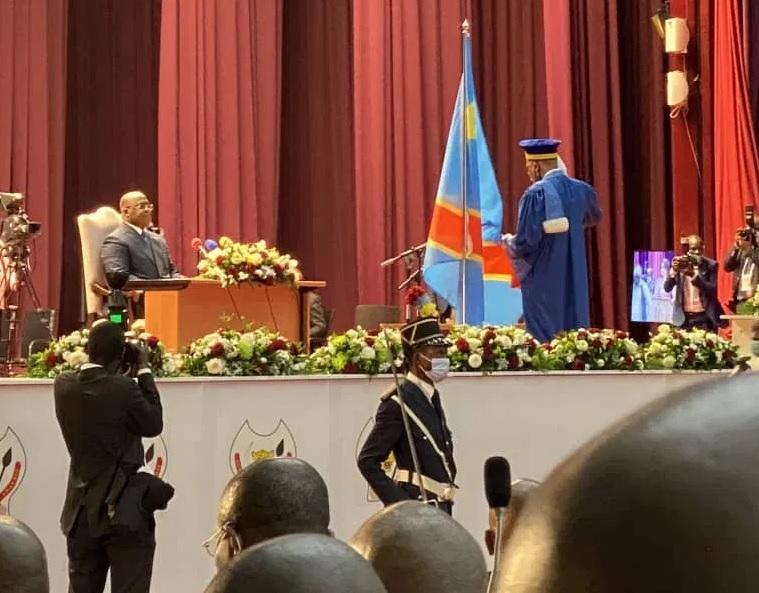 cérémonie prestation serment trois juges congolais