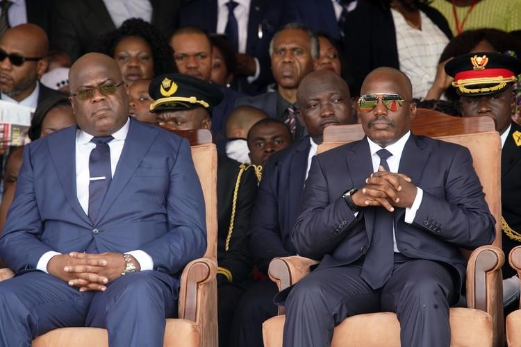 Tshisekedi et Kabila
