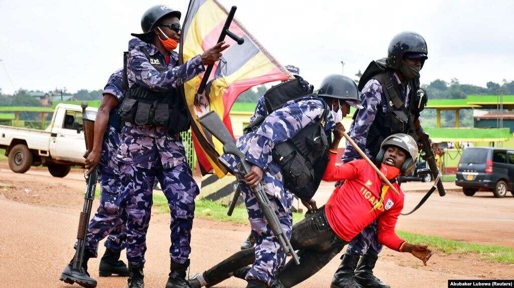 ouganda riot