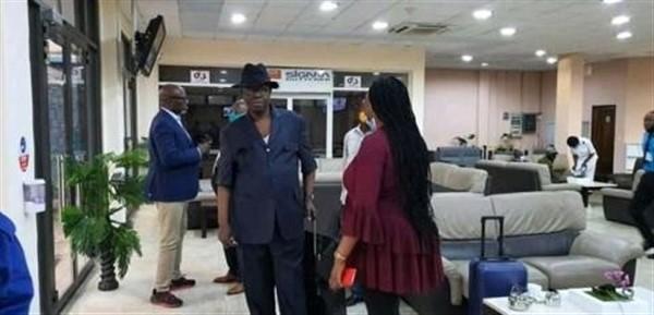 délégation_kabila_airport