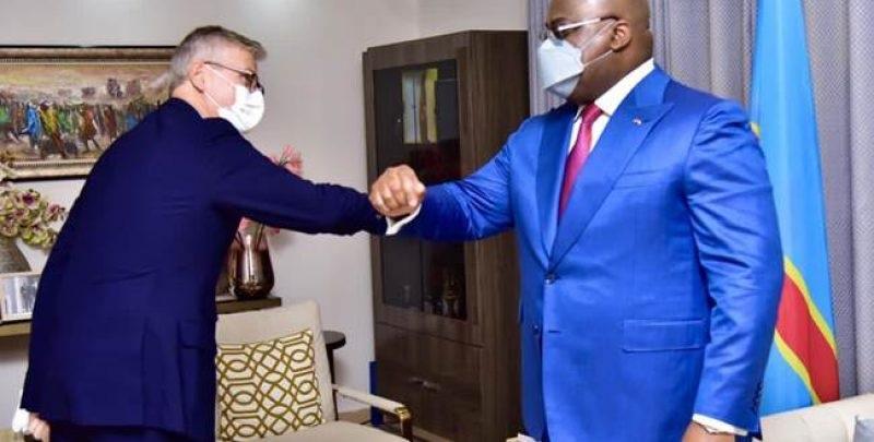 Jean Pierre Lacroix et Félix Tshisekedi