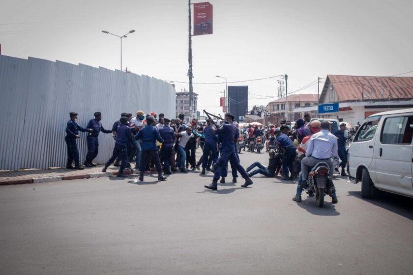 repression DRC