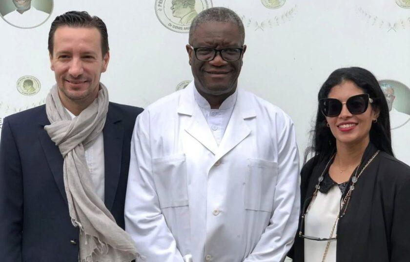 Luca Attanasio et Mukwege