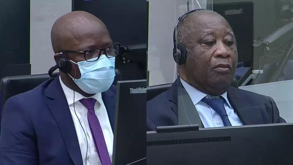 Laurent Gbagbo et Charles Blé Goudé